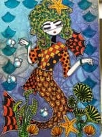Dylusions - Rubber Stamps - Paper Doll